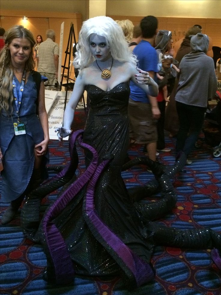 Ursula from The Little Mermaid #Disney #cosplay #dragoncon2014