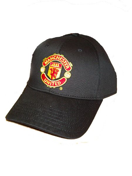 Manchester United FC Baseball Cap Man Utd Black Manchester United Football Club Official Baseball Cap, One Size Baseball Cap, Velcro Tap at the back to adjust size if required, With world famous Manchester United Crest on the front, Colour: Black http://www.comparestoreprices.co.uk/baseball-caps/manchester-united-fc-baseball-cap-man-utd-black.asp