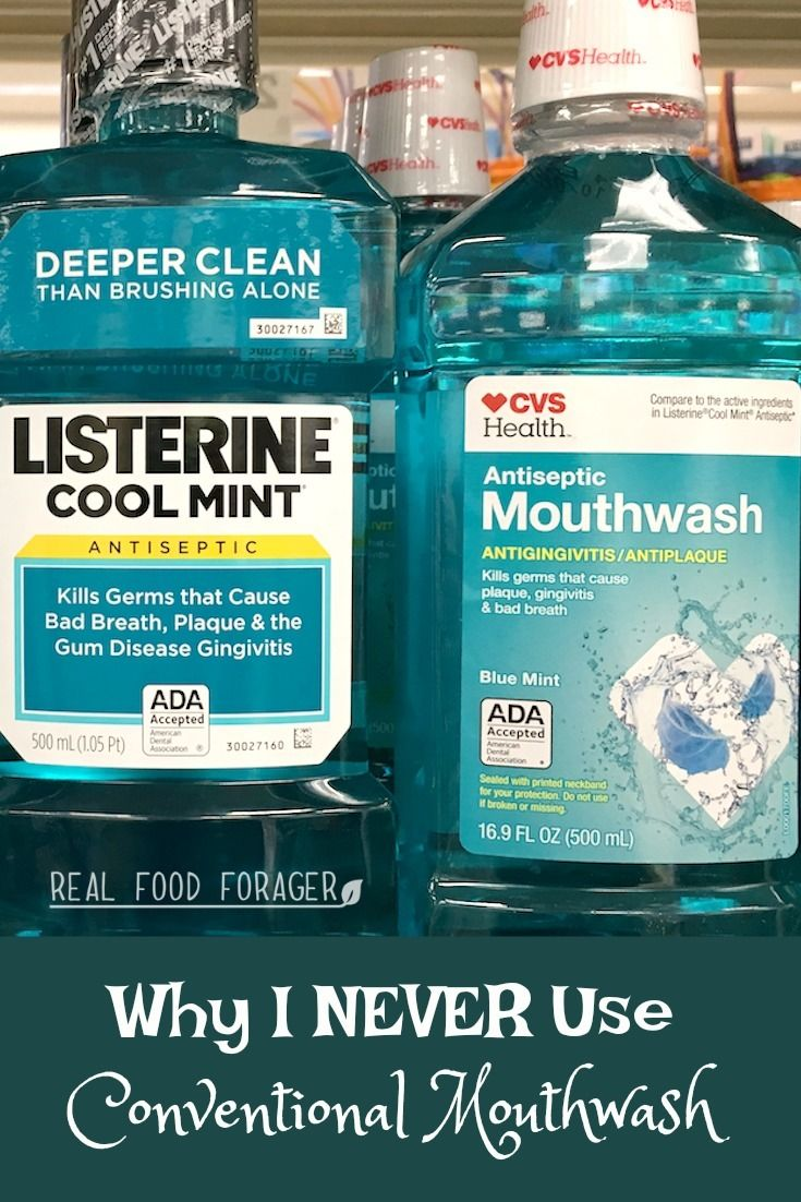 Why I NEVER Use Conventional Mouthwash. It's like douching with pine-sol. Find out safer ways to cleanse the mouth!