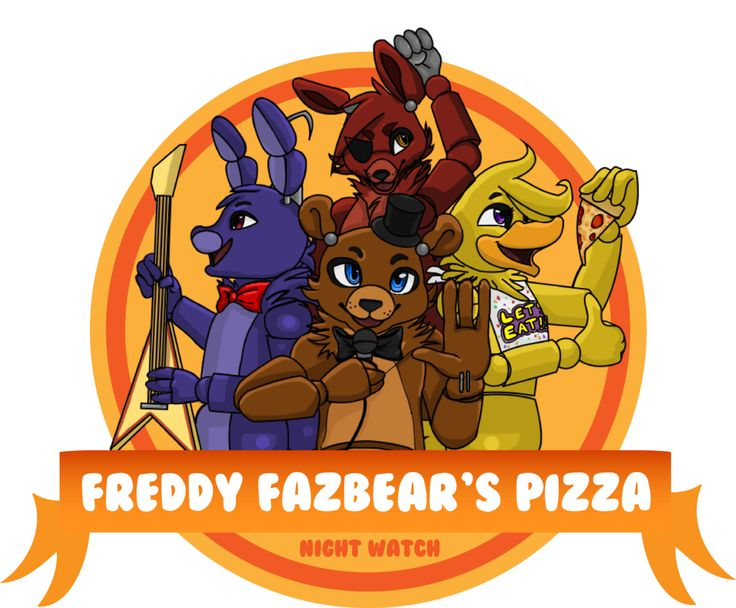 Fnaf logos and pizza on pinterest