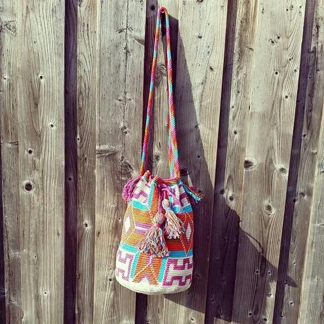 Mochila bag ... de 1ste, gemaakt door Marika!! https://m.facebook.com/mijnschoonzusenik