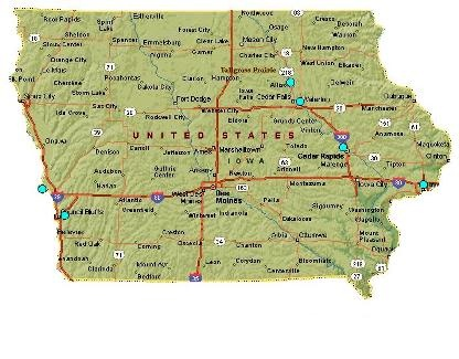 Best Clarinda Iowa Ideas On Pinterest The Glenn Iowa And - Iowa map usa