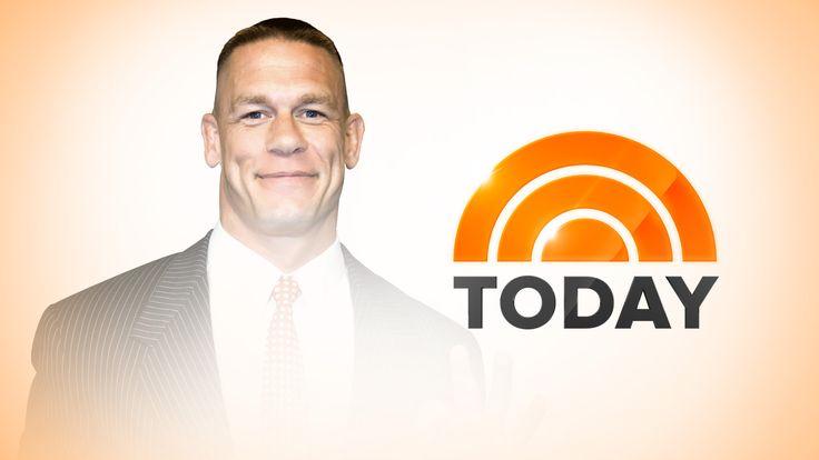 """John Cena returns to co-host """"TODAY"""" tomorrow"""
