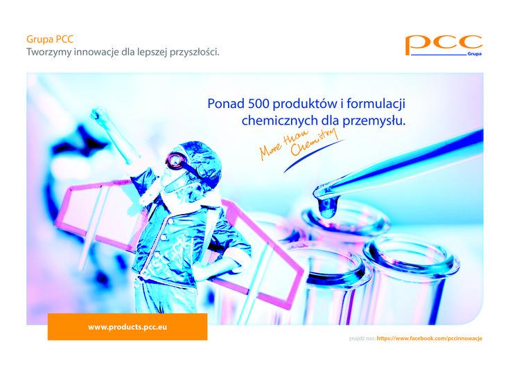 Zapraszamy do odwiedzenia nowego portalu produktowego Grupy PCC, gdzie znajdziecie Ponad 500 produktów specjalistycznych i formulacji chemicznych dla różnych gałęzi przemysłu. www.products.pcc.eu