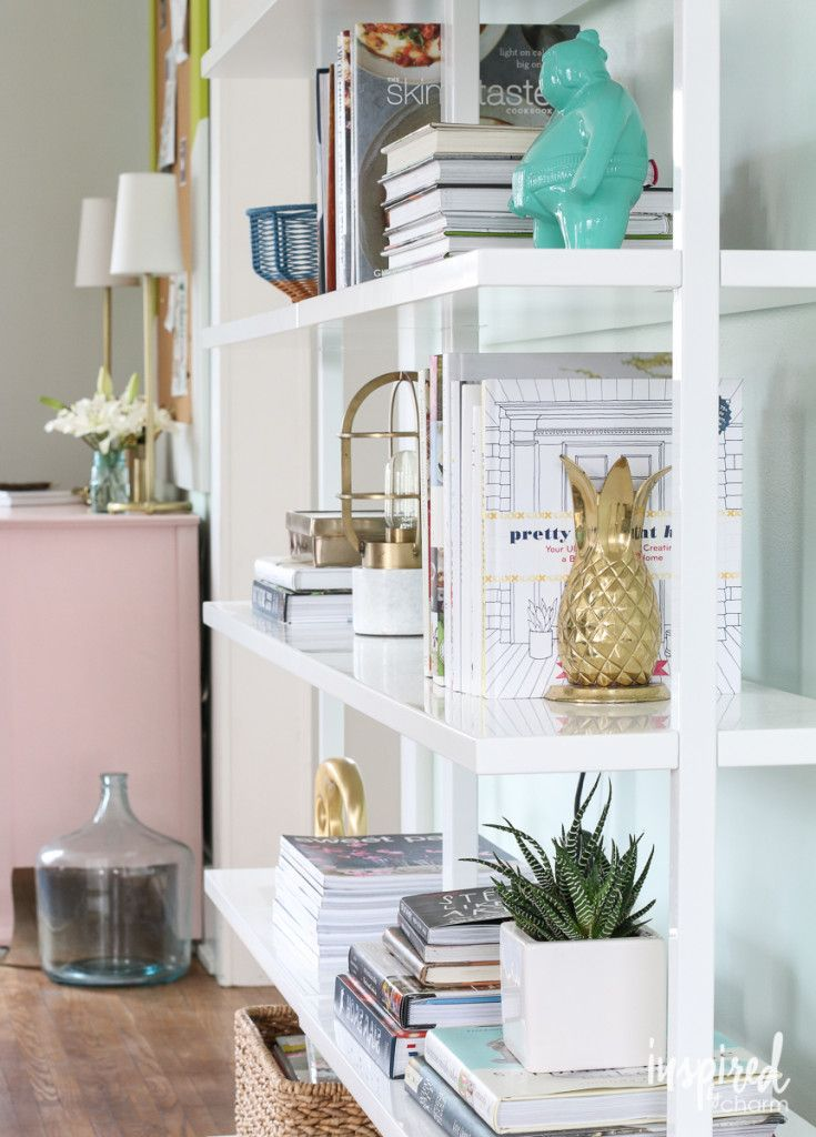 Shelf Styling via Inspired by Charm