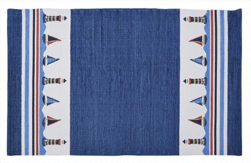 You can buy designer rugs with various prints in different color combination.