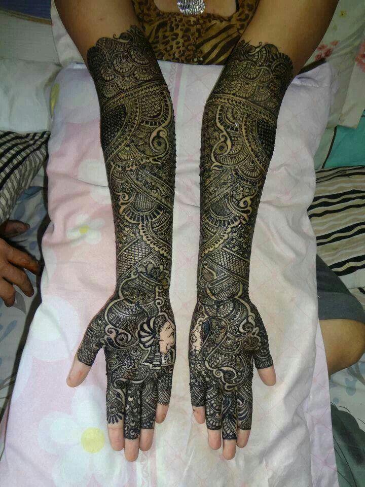 Raja Rani Bridal Mehndi Designs : Best images about bridal mehendi on pinterest