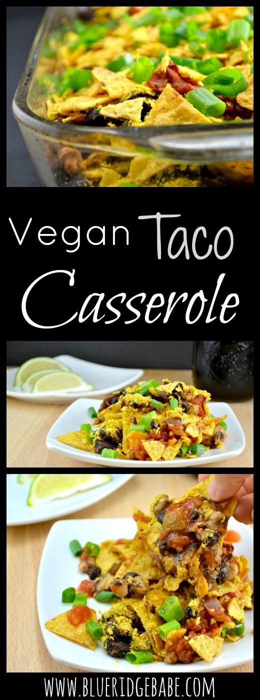 Budget friendly & delicious vegan taco casserole recipe