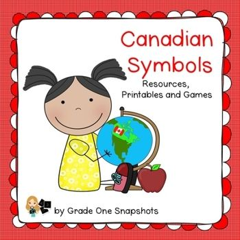 Canada Symbols Unit for early primary $