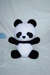 Amigurumi Guinea Pig Pattern Free : 25+ best ideas about Crochet Panda on Pinterest Crochet ...