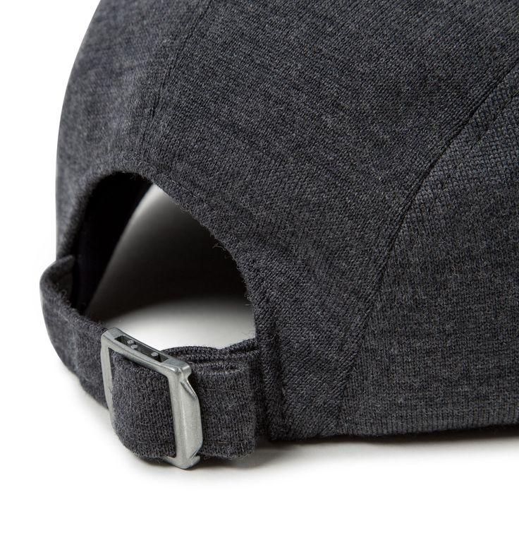 Sunspel X Larose Vintage Wool Cap in Charcoal Melange | Sunspel