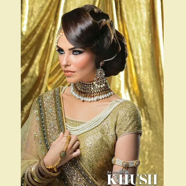 Pakistani Hairstyles Buns: 257 Best Images About Bridal Hair For Indian/Pakistani