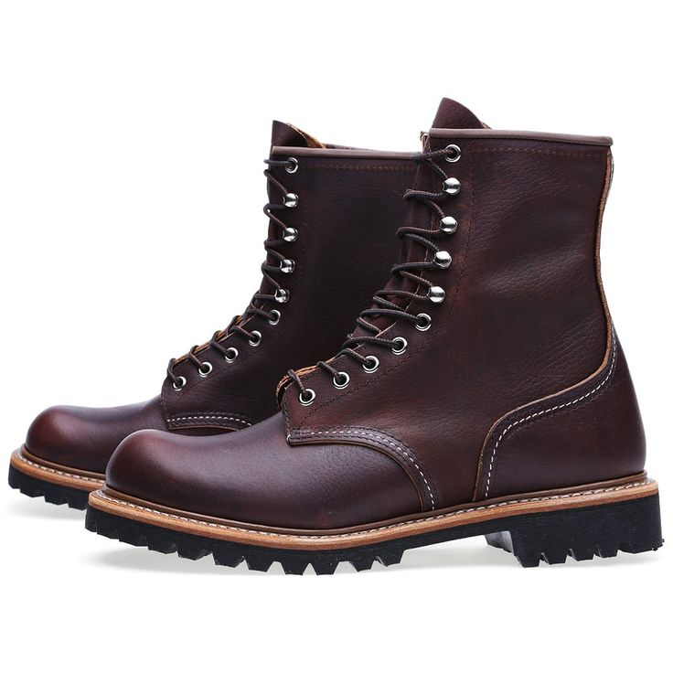 """Red Wing 4585 8"""" Logger Boot (Briar Oil Slick)"""