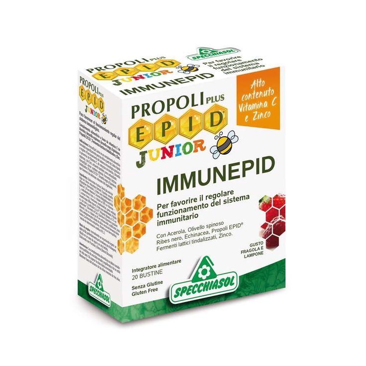 Specchiasol, Immunepid Junior 20 bustine