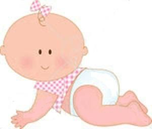 Free baby girl clipart pictures clipartix 3