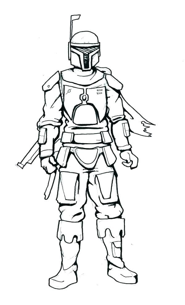 Boba Fett Coloring Pages Best Coloring Pages For Kids Coloring Pages Coloring Pages For Kids Boba Fett