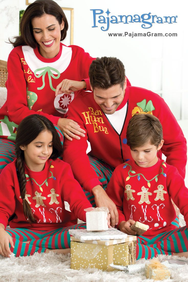 Bring on the ugly christmas sweater matching family for Funny matching family christmas pajamas