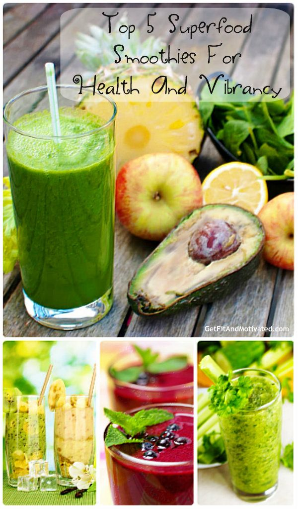 Top 5 Superfood Smoothies For Health And Vibrancy