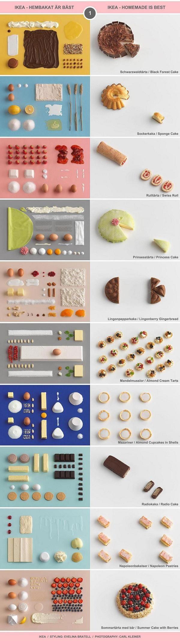 "10 Classic Swedish Treats (I) - IKEA cookbook ""Hembakat är Bäst"" (Homemade Is Best) / Food Styling by Evelina Bratell, Photos by Carl Kleiner (http://www.carlkleiner.com)"