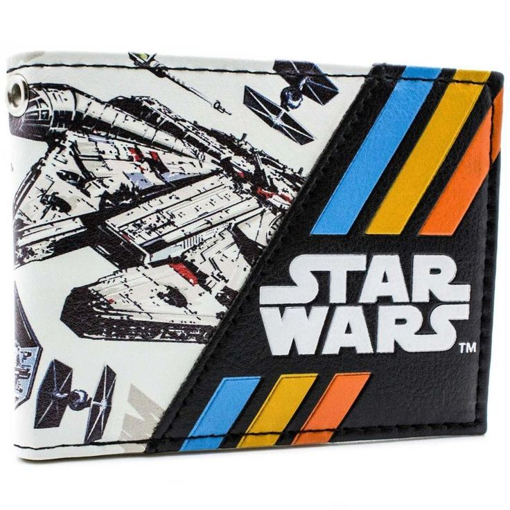 awesome Wallet Star Wars Millennium Falcon New Republic light freighter  -