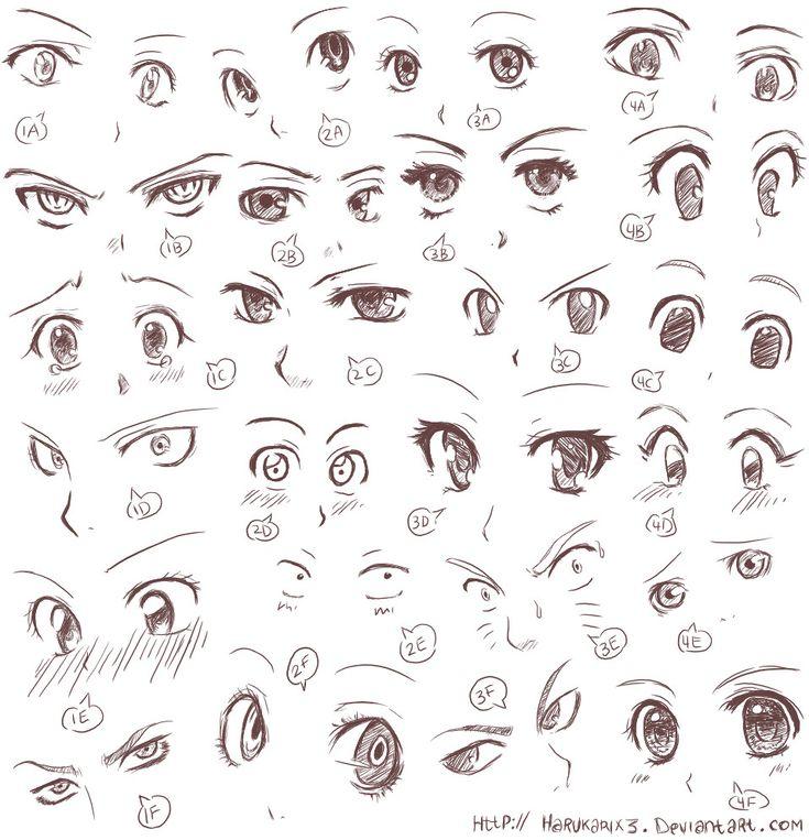 ojos de anime 7                                                                                                                                                                                 Más