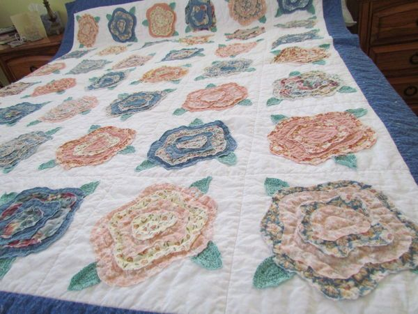 43 best q - French Rose quilts images on Pinterest | Patterns ... : french quilts - Adamdwight.com
