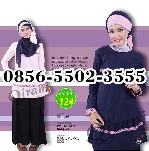 Blus Qirani Terbaru, HP.0856-5502-3555,