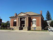 Grimsby, Ontario, Canada- The original public library
