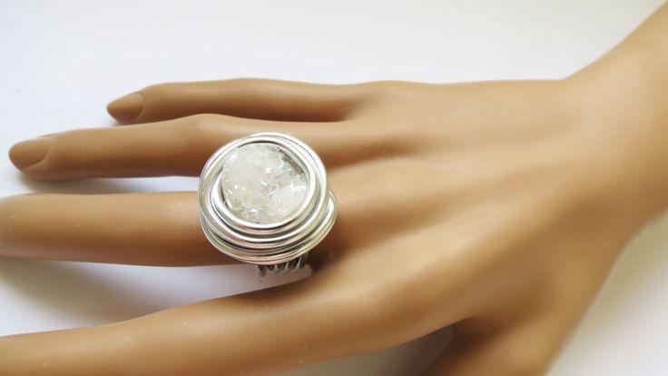 Druzy Jewelry Druzy Ring Silver Druzy Jewelry by IrisKreshes