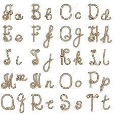rope letters - Cerca con Google