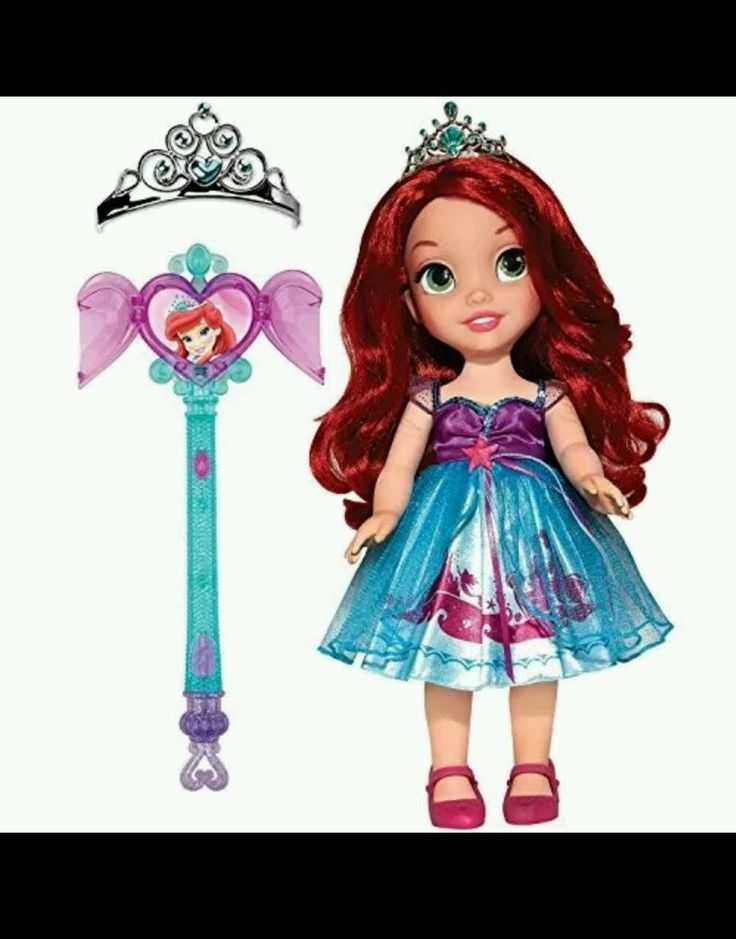 My 1st Disney Share with me Princess Ariel Brand nib A crown and wand for you in Toys & Hobbies, TV, Movie & Character Toys, Disney | eBay