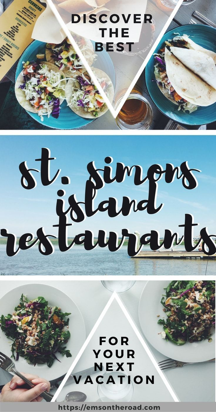 Local's' Guide to St. Simons Island, Georgia Restaurants | Em's on the Road