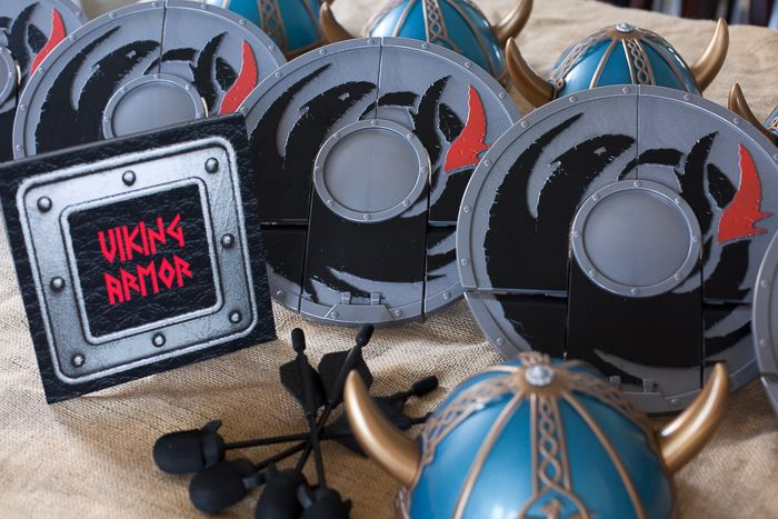 How to Train Your Dragon Birthday Party - Part I - Frog Prince Paperie