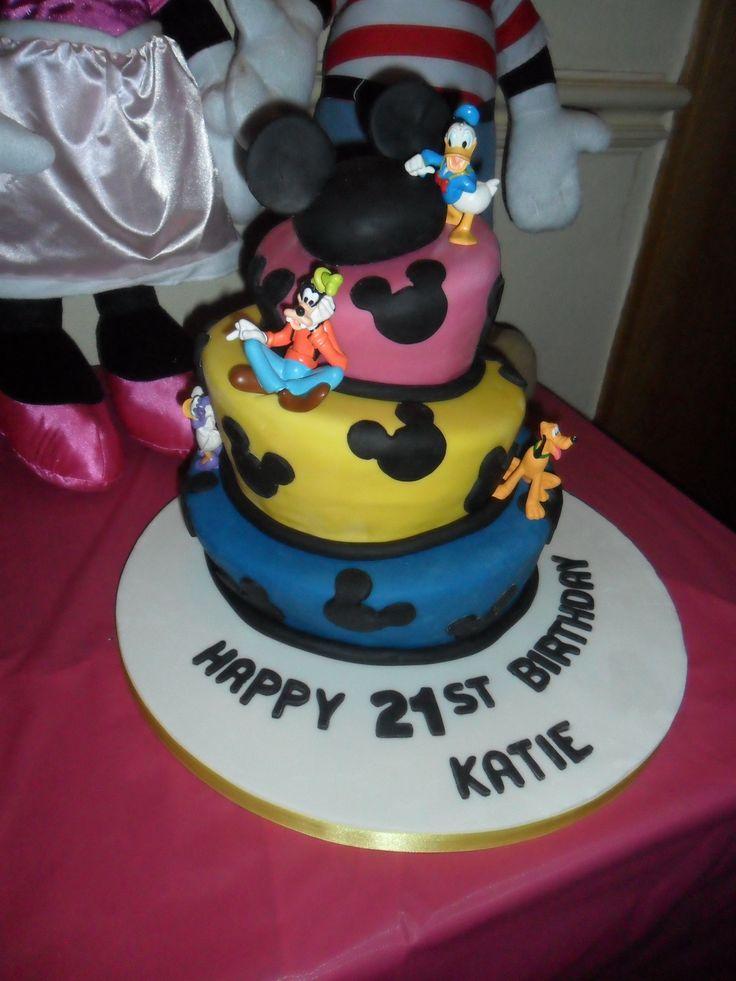Best Th Birthdaycakes Images On Pinterest Biscuits Disney - Disney birthday cake ideas