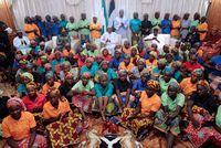 """Boko Haram: le rapport complexe des femmes avec leurs ravisseurs                                                                                 Lagos - """"Je suis mariée. Je suis bien"""": l'une des lycéennes nigéria... http://www.lexpress.fr/actualites/1/monde/boko-haram-le-rapport-complexe-des-femmes-avec-leurs-ravisseurs_1906849.html"""
