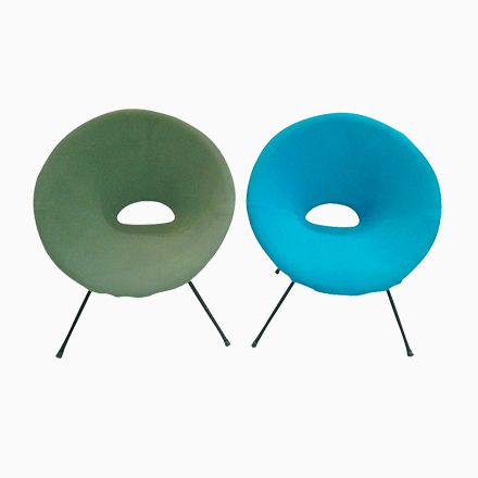 Türkiser U0026 Grüner Lounge Stuhl, 1960er, 2er Set Jetzt Bestellen Unter: ...