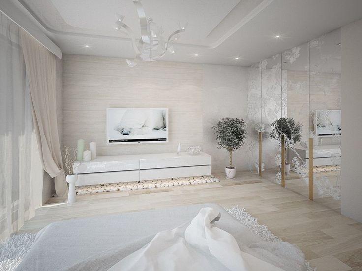 спальня в современном стиле, дизайн спальни, как оформить спальню, идея дизайна спальни