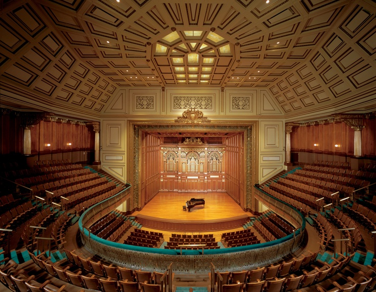 Boston: Jordan Hall. New England Conservatory of Music