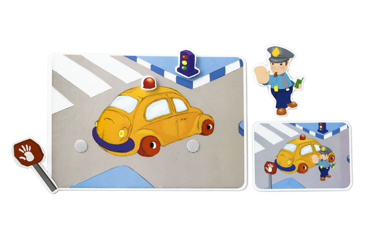 Picnmix- People at Work- Policeman's Card. What does the Policeman use to do his job?