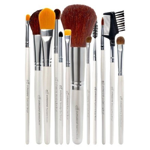 elf Essential Professional Complete Set of 12 Brushes >>> To view further for this item, visit the image link. (Note:Amazon affiliate link)