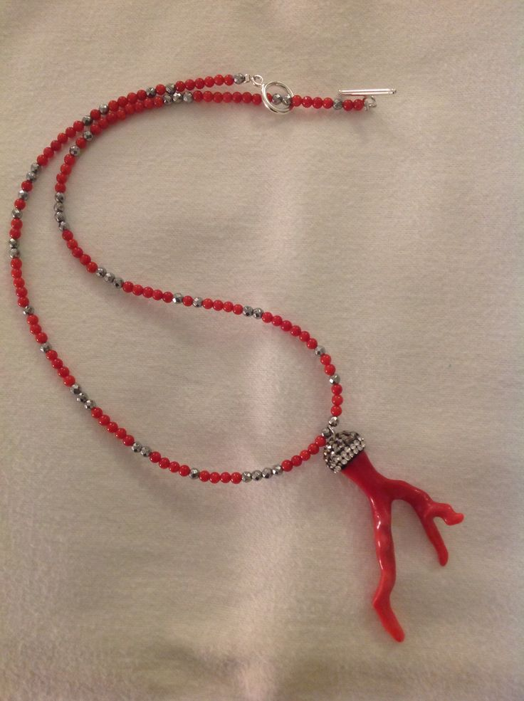 MG Jewellery Coral, hematite