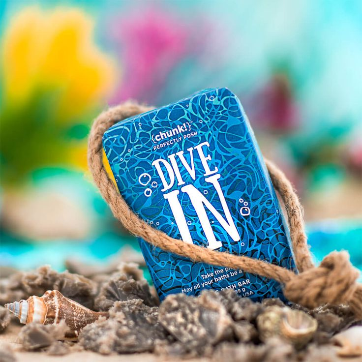 Dive In Chunk | Perfectly Posh