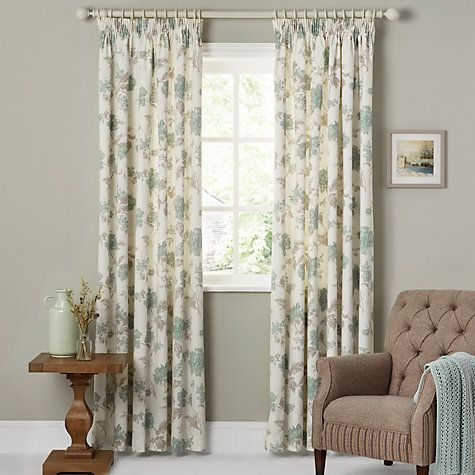 Buy John Lewis Abberley Lined Pencil Pleat Curtains Online At Johnlewis