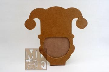 Moldura Chapéu de Joker Foto 7x10cm