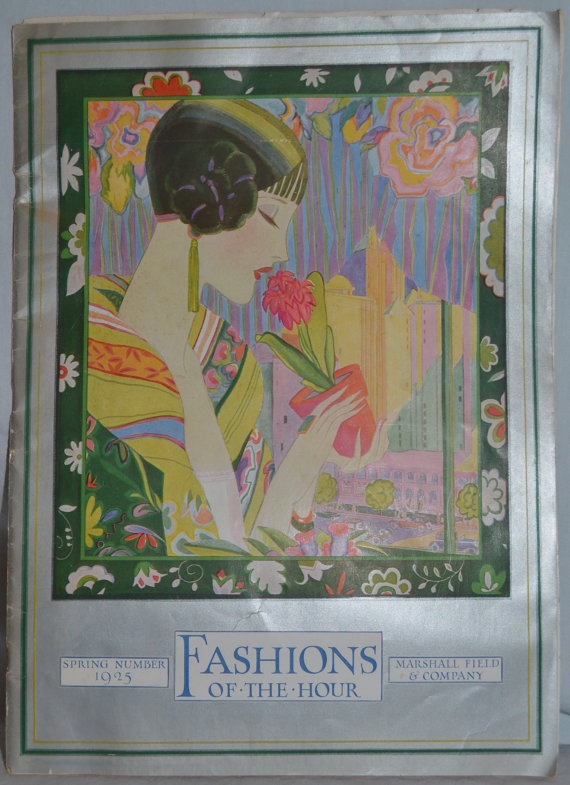 Vintage Fashion of Hour Marshall Field Fashion by whosyourdaddy71, $120.00