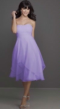 Bridesmaid dress choice #1 in lilac/lavender, the exact color I want. Mori Lee 791.