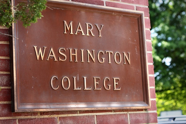 Fredericksburg, Virginia..It's now called the University of Mary Washington.  When it first opened, it was an all women's college