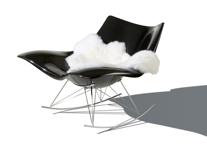Mecedora Silla Rocking Chair Diseño Design Decoración Decoration  Miraquechulo
