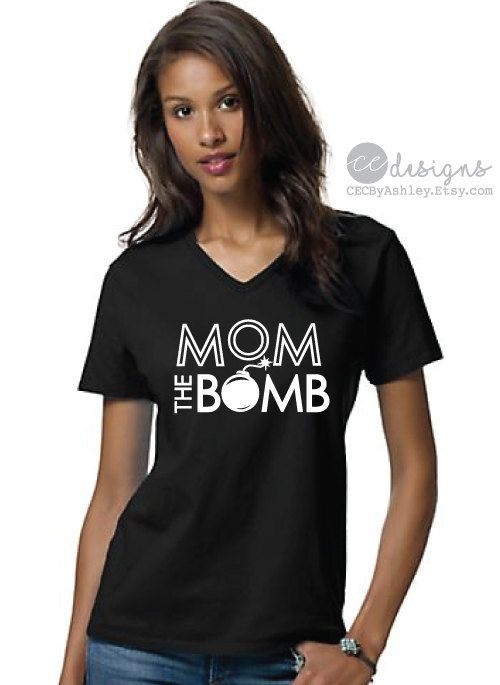 Mom Shirt, mom the bomb, BEST SELLER, Unisex T-shirt, gift for her, lounge shirt, Super mom shirt, funny mom shirt , Mom, funny mom shirt, Mama Shirt, Clothing Unisex Adult Clothing Tops & Tees T-shirts mom t-shirt t-shirt t-shirt custom new mom tee christmas gift mom gift  -----------------  The perfect tee for any mother out there. The custom design is done in white print on a solid black, super soft, lightweight tee. These are unisex sized, standard tees, and fits like a well-loved fav...