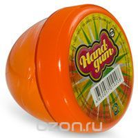 Жвачка для рук Тм HandGum, цвет: оранжевый, с запахом апельсина, 35 г